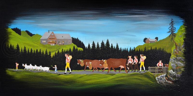 40 x 80 cm, Acryl auf Leinwand, 2017