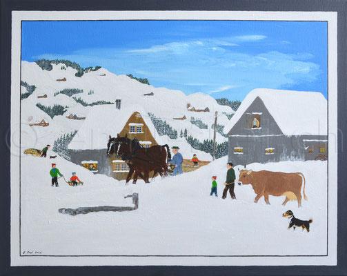 40 x 50 cm, Acryl auf Leinwand, 2012