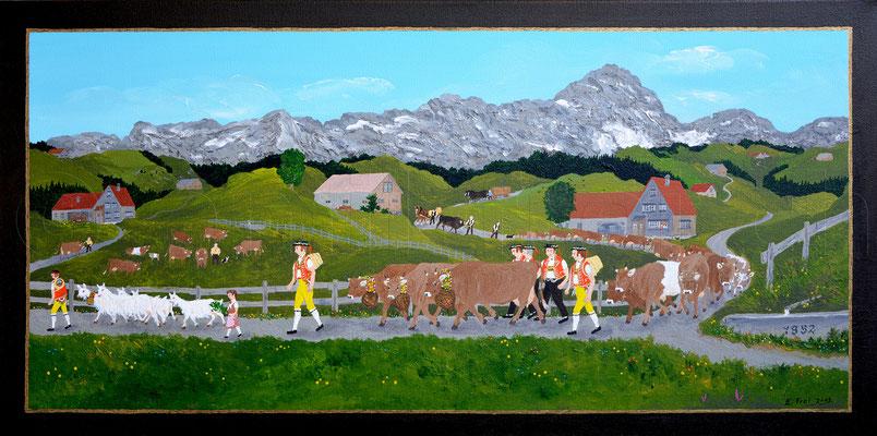 40 x 80 cm, Acryl auf Leinwand, 2013