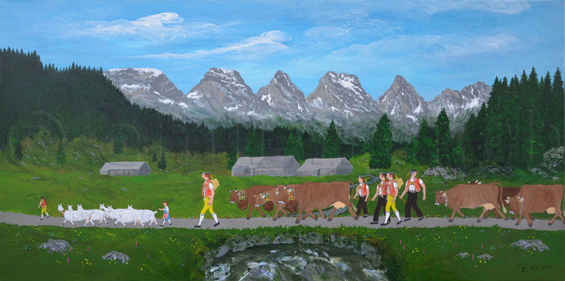 40 x 80 cm, Acryl auf Leinwand, 2012