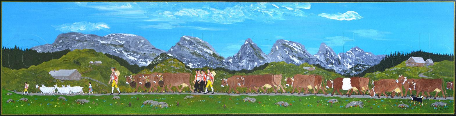 30 x 120 cm, Acryl auf Leinwand, 2011