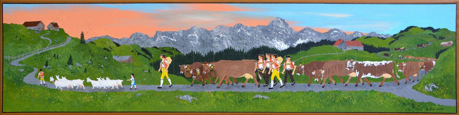 20 x 80 cm, Acryl auf Leinwand, 2015