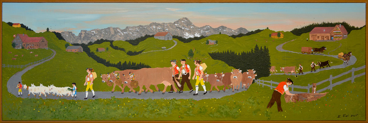 20 x 60 cm, Acryl auf Leinwand, 2015