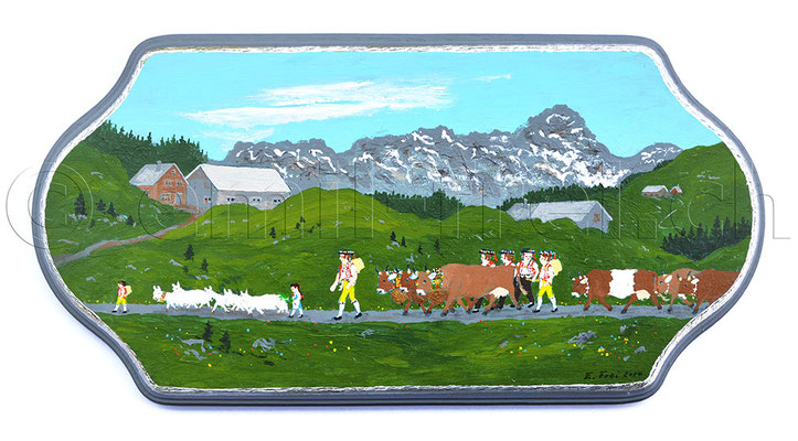 13.5 x 27 cm, Acryl auf Holz, 2014