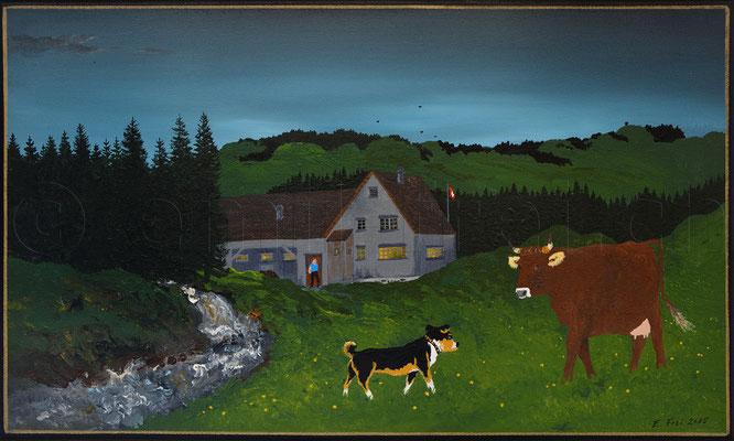 30 x 50 cm, Acryl auf Leinwand, 2015