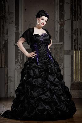 Extravagantes Brautkleid große Größe