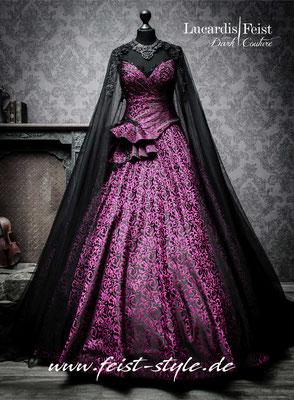 extravagante brautkleider pink