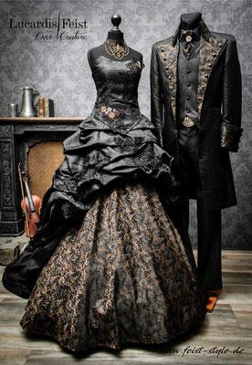 steampunk hochzeitskleider-gothic