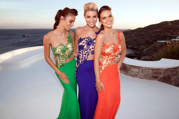 Extravagante Abendkleider