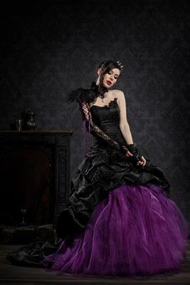 Gothic Brautkleid