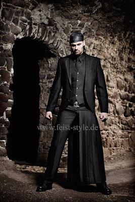 Extravaganter Anzug, Showoutfit