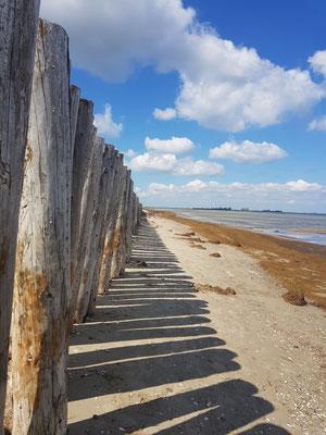 """""""Wolkenspiel"""" - Strand von Wampen © Anke Müller"""