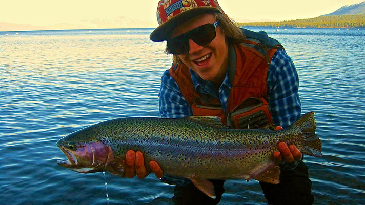 Lake Tahoe also offers Fly Fishing opportunities
