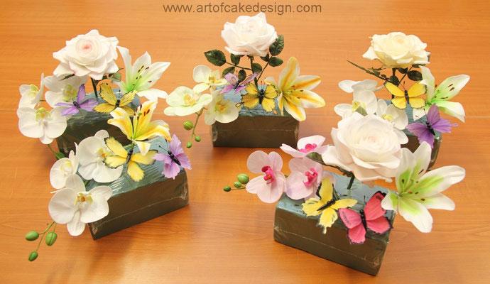 Art Of Cake Design Katerina Schneider : Zuckerblumen-Kurs - Katerina Schneider, Art of Cake Design ...