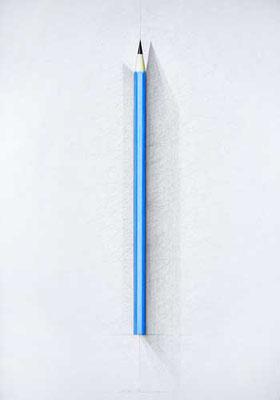 Blauer Stift