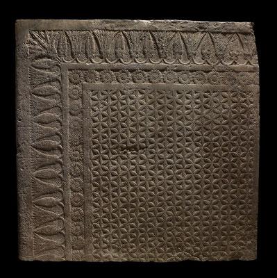 Assyrie 668 à 631 BC Seuil de porte de la salle du trone d'Ashurbanipal Nord Iraq.