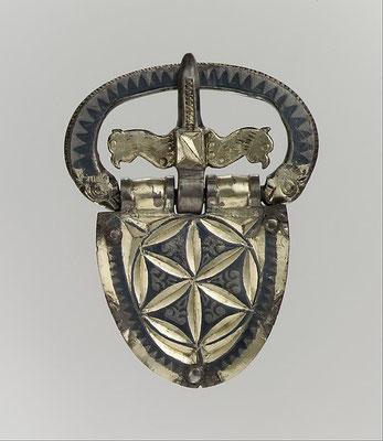 Boucle de ceinture en Gaule romaine CA.400