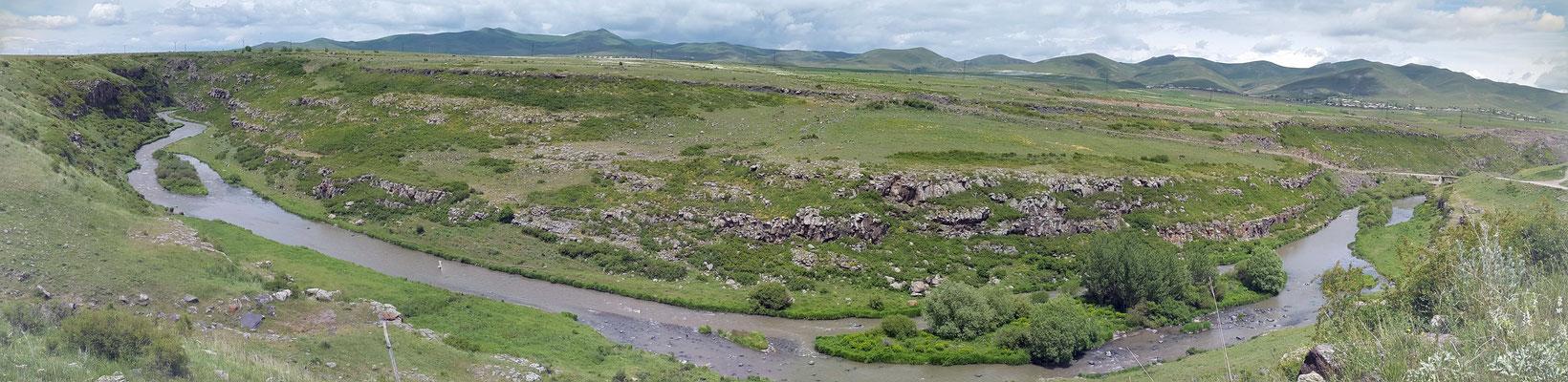 Tal des Flusses Akhurian