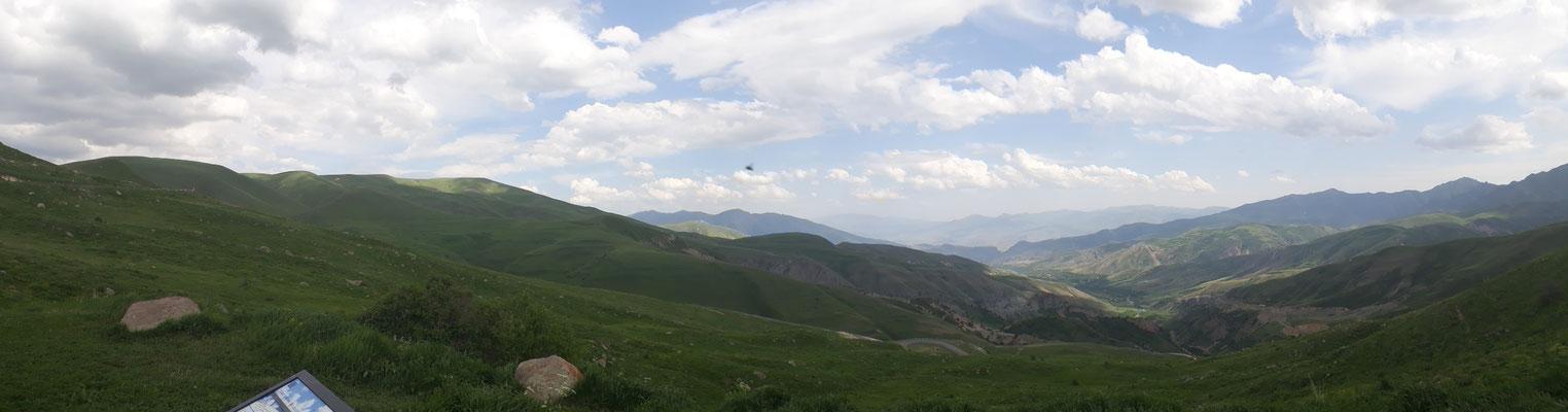 Ausblick vom Selim-Pass