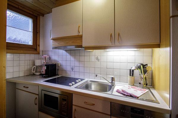 Appartment Monika im Montafon - Appartment Gweil - Die Wohnküche