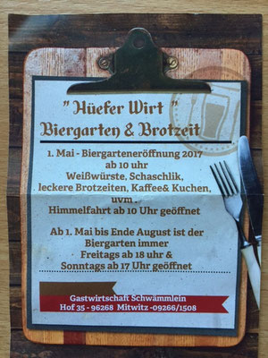 Hüfer Wirt in Hof a.d. Steinach