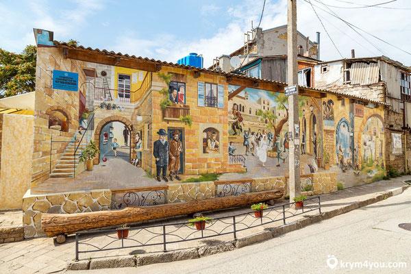 Старые улочки Евпатории