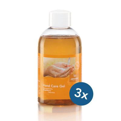 Hand Care Gel ohne Pumpe, 3er-Pack - Artikelnr. 8456