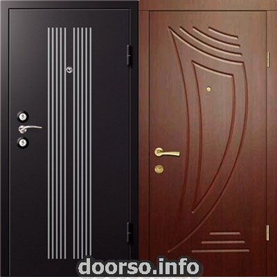 Дверь серии МДФ № 12.