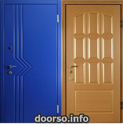 отделка двери мдф + мдф.