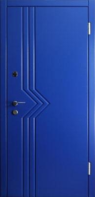 МДФ № 18. металлическая дверь город Руза.