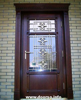 Филенчатая металлическая дверь на заказ.