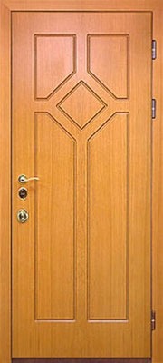 металлическая дверь город Руза серия МДФ № 29.