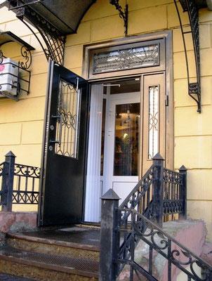 Уличные двери со стеклом Одинцово.