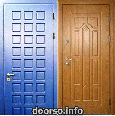 отделка двери мдф + мдф. город Истра.