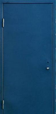 Металлические двери с порошковым напылением в городе Можайск.  Дверь серии ПН №8.