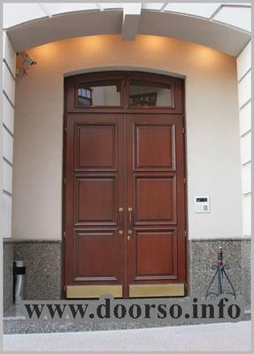 металлическая дверь со стеклом на заказ Можайске.