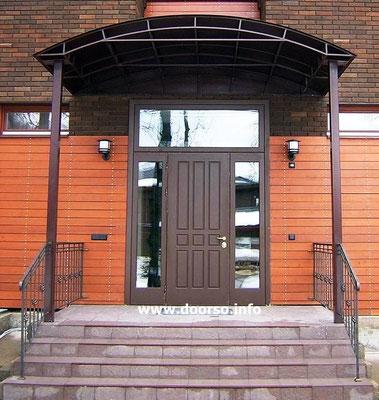 Нестандартная металлическая дверь Звенигород.