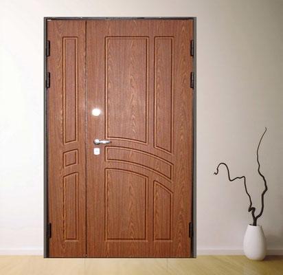 подъездные двери МДФ