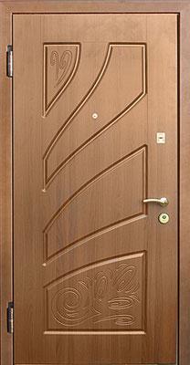 МДФ № 27. металлическая дверь город Руза.