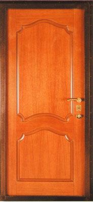 металлическая дверь город Руза серия МДФ № 2.