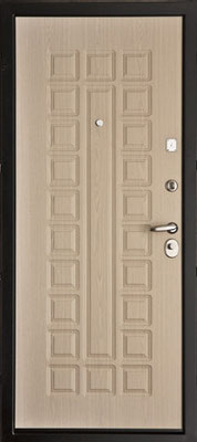 Металлическая дверь в городе Можайск.  серия МДФ № 11.