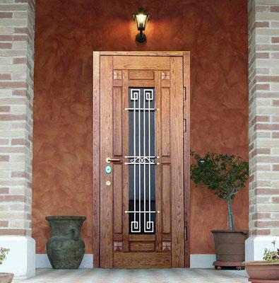 металлическая дверь со стеклом в Можайск.