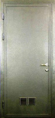 Металлические двери с порошковым напылением в городе Можайск.  Дверь серии ПН №7.