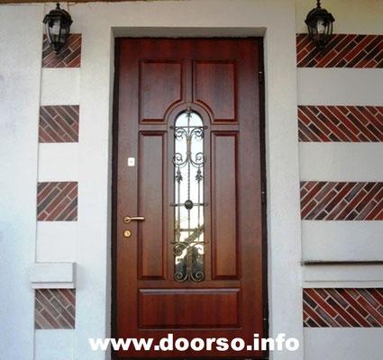 Металлические двери с окном Можайск.