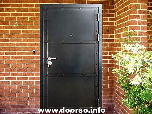 Нестандартная металлическая дверь Руза.
