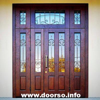 Металлическая дверь со стелкопакетами нестандартных размеров.