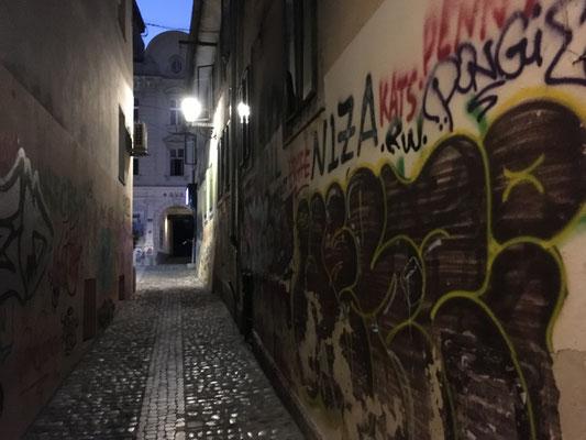 Impressionen down-town Ljubljana