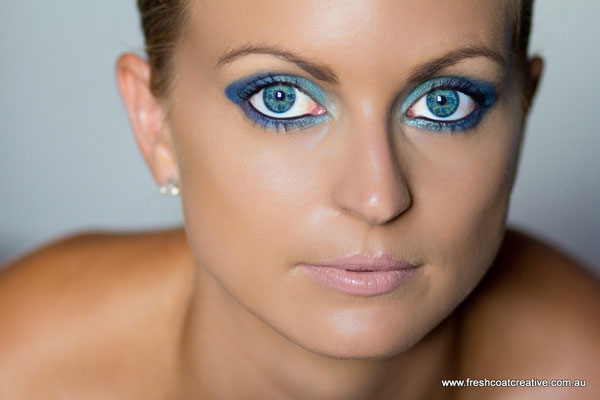Glamour Photography - Makeup by Kahlia Whitelaw - Freshcoat Creative Graphic Design & Photography