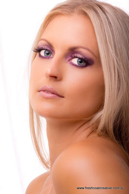 Glamour Photography - Makeup by Kahlia Whitelaw