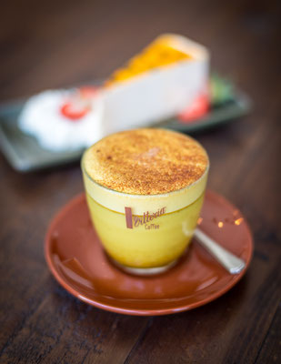 Turmeric Latte - Gold Coast Food Photography